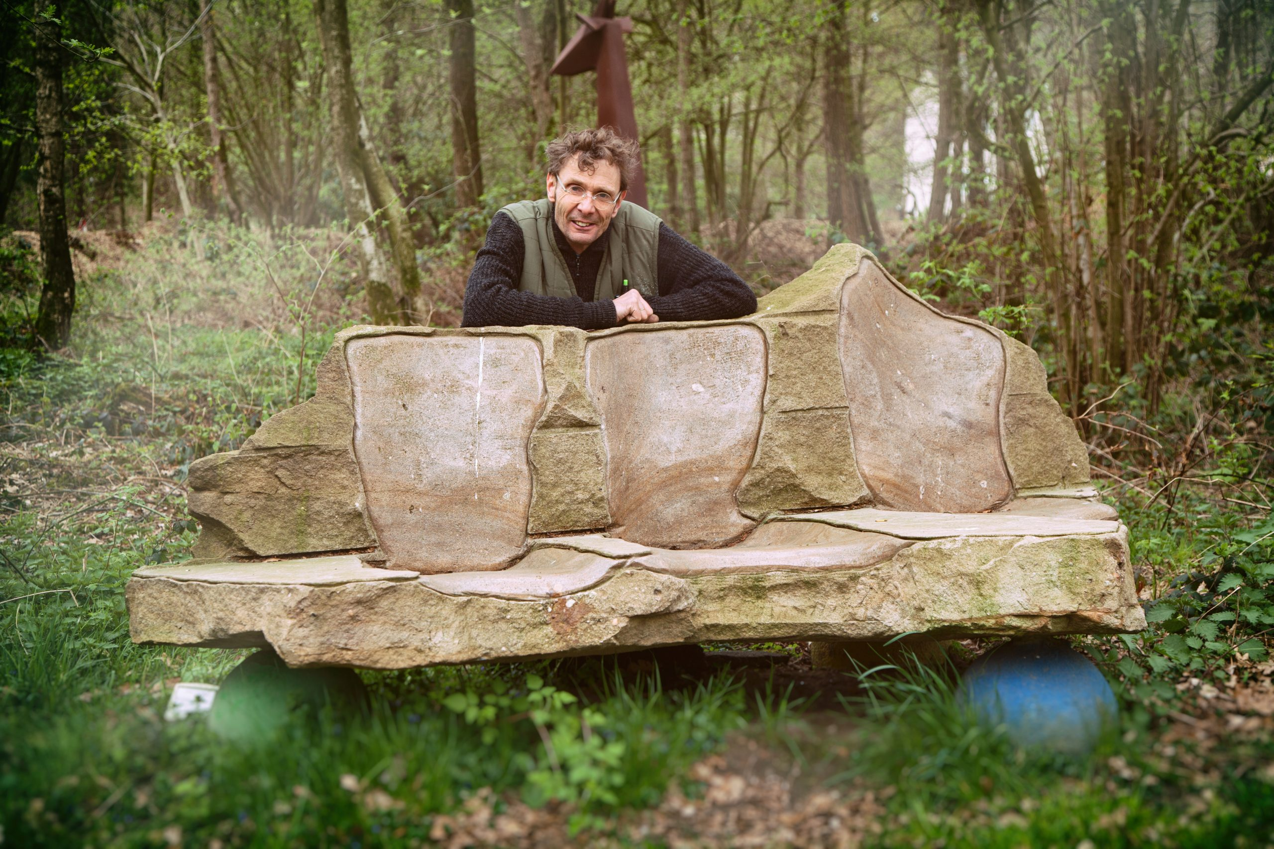 Sitzmöbel aus Naturstein